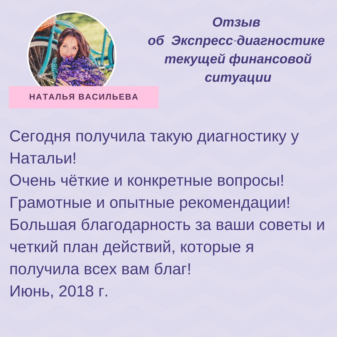 Отзыв Н_Васильева_Экспресс_диагностика